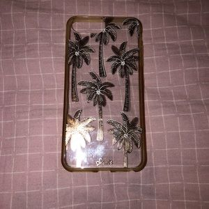 Rose Gold Palm Tree Phone Case